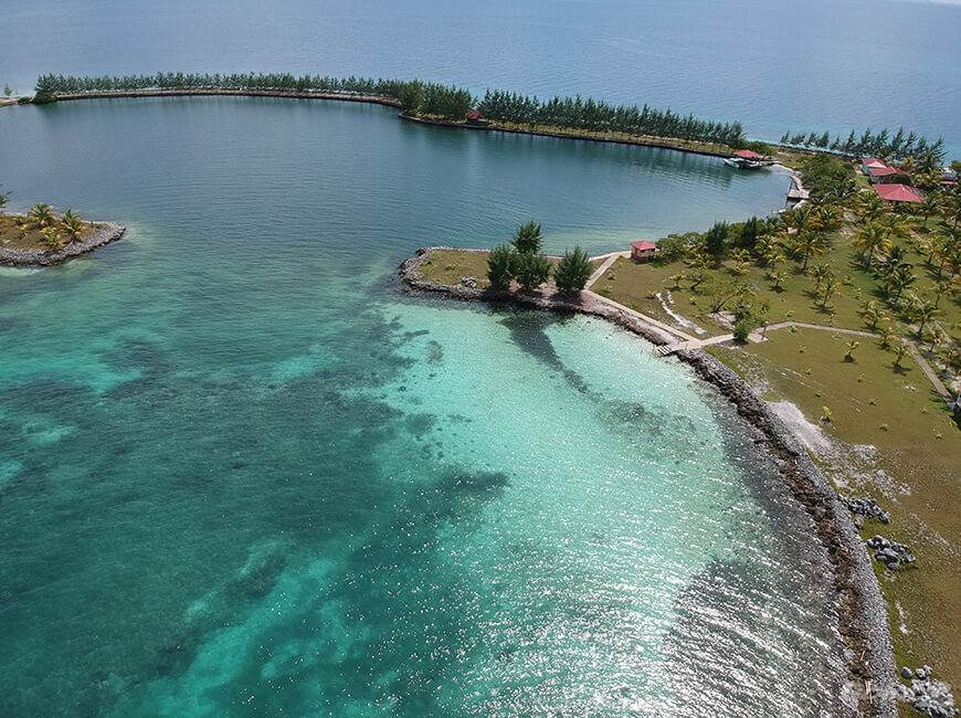 住居居住用、売買物件 建ての 40 Acre Island Paradise near Placencia| Belize beach property for sale, Placencia, Stann Creek   , ベリーズ
