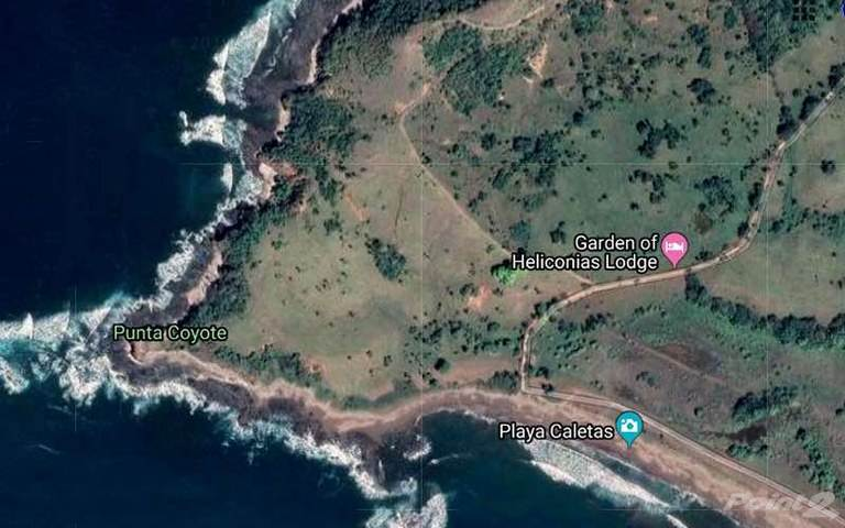 農場 売買物件 建ての Punta Coyote: South Tip of Nicoya Peninsula Titled Beachfront, 2 Miles of Shoreline and Large River, Mal Pais, Guanacaste   , コスタリカ